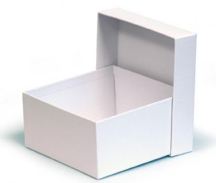50cl Candle Box - Rigid - WHITE